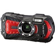 RICOH WG-60 červená + neoprénové pouzdro + plovoucí poutko - Digitální fotoaparát
