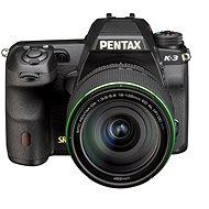 PENTAX K-3 + objektiv 18-135WR - Digitální zrcadlovka