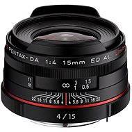 PENTAX HD DA 15mm f/4.0 ED AL Limited. Black - Objektiv