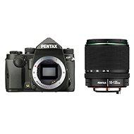 PENTAX KP černý + 18-135 mm WR - Digitální fotoaparát