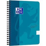 Oxford Nordic Touch A5+, 70 listů, čtverečkovaný, modrý - Poznámkový blok