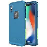 LifeProof Fre pro iPhone X - modré - Pouzdro na mobilní telefon