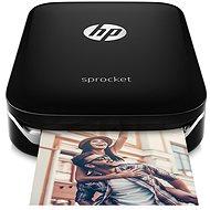 HP Sprocket Photo Printer černá - Termosublimační tiskárna