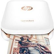 HP Sprocket Photo Printer bílá - Termosublimační tiskárna