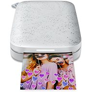 HP Sprocket 200 Photo Printer Luna Pearl - Termosublimační tiskárna