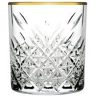PASABAHCE TIMELESS GOLDEN TOUCH whisky 34,5 cl - Sklenice na whisky
