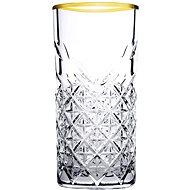 PASABAHCE TIMELESS GOLDEN TOUCH long drink, 295 ml - Sada sklenic