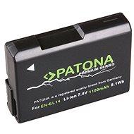 PATONA pro Nikon EN-EL14 1100mAh Li-Ion Premium - Baterie pro fotoaparát