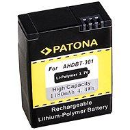 PATONA pro GoPro HD Hero 3 1180 mAh Li-Pol - Náhradní baterie