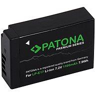 PATONA pro Canon LP-E17 950mAh Li-Ion Premium - Baterie pro fotoaparát