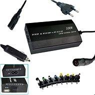 PATONA k ntb/ 100W na 240V/ 12V-24V/ USB/ 8 konektorů/ univerzální/ do sítě i auta - Adaptér