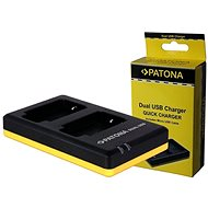 PATONA  Foto Dual Quick Nikon EN-EL23  - Nabíječka akumulátorů