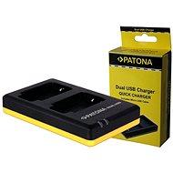 PATONA  Foto Dual Quick Panasonic DMW-BCM13  - Nabíječka