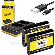 PATONA Foto Dual Quick Sony NP-BG1 + 2x baterie 960mAh - Nabíječka akumulátorů