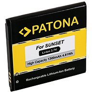 PATONA pro Wiko Sunset 1300mAh 3,7V Li-lon