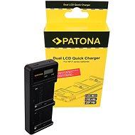 PATONA pro Foto Dual LCD Sony F550/F750/F970 - USB