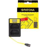 PATONA pro Dual Canon LP-E6 s LCD,USB