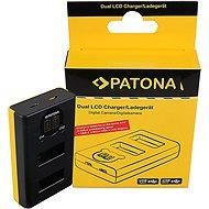 PATONA pro Dual GoPro MAX s LCD - Nabíječka akumulátorů