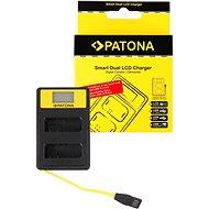 PATONA pro Dual Nikon EN-EL14 s LCD,USB