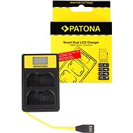 PATONA pro Dual Nikon EN-EL15 s LCD,USB - Nabíječka akumulátorů