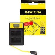 PATONA pro Dual Panasonic DMW-BLC12 E s LCD,USB