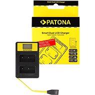 PATONA pro Dual Fuji NP-W126 s LCD,USB