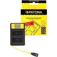 PATONA pro Dual Panasonic DMW-BLG10 s LCD,USB