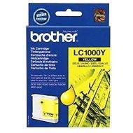 Brother LC-1000Y žlutá - Cartridge