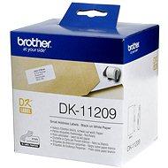 Brother DK-11209 - Papírové štítky