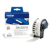 Brother DK 22210 - Papírové štítky