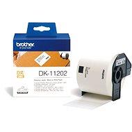 Brother DK 11202 - Papírové štítky