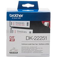 Brother DK 22251 - Papírové štítky