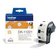 Brother DK 11221 - Papírové štítky