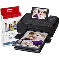 Canon SELPHY CP1300 Black + Papers KP-36 - Dye-sublimation Printer