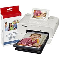 Canon SELPHY CP1300 White + Papers KP-36 - Dye-sublimation Printer