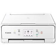 Canon PIXMA TS6151 bílá + papíry PP-201 13x13cm 20stran - Inkoustová tiskárna