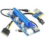 ANPIX ver009s redukce PCIe x1 na PCIe x16 (PCIe riser) - Redukce
