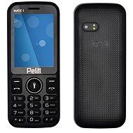 Pelitt Mate1 černá - Mobilní telefon