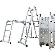 Hliníkové štafle G21 GA-SZ-4x3-3,7M multifunkční + podlážka - Štafle