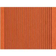Terasové prkno G21 2,5 x 14 x 400 cm, třešeň, WPC - WPC prkno