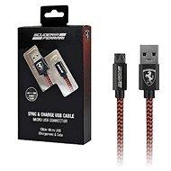 SCUDERIA FERRARI|Ferrari Charging Cable for iPhone, Red|