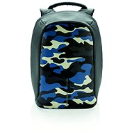 "XD Design Bobby anti-theft backpack 14"", camouflage blue - Batoh na notebook"
