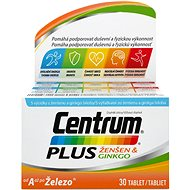 CENTRUM Plus Ginseng & Ginkgo 30 Tablets - Multivitamin