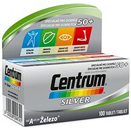 CENTER SILVER 100 Tablets - Multivitamin