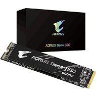 GIGABYTE AORUS Gen 4 SSD 500GB - SSD disk