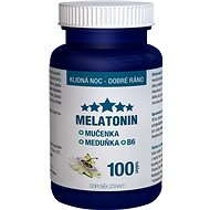 Melatonin Mučenka Meduňka B6 tbl.100 Clinical - Melatonin