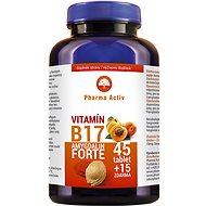 Vitamin B17 AMYGDALIN FORTE,  45 Tablets + 15 FREE, Pure Form of Aamygdalin 98%, Mexico - Vitamin B