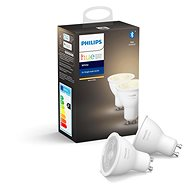 Philips Hue White 5,5W GU10 set 2ks - LED žárovka