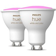 Philips Hue White and Color ambiance 5.7W GU10 set 2ks - LED žárovka