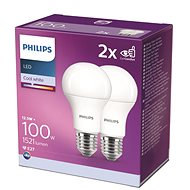 Philips LED 12.5-100W, E27 4000K, 2pcs - LED Bulb